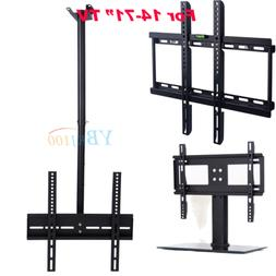 14-71 Full Motion TV Wall Ceiling Mount Swivel Bracket Stand
