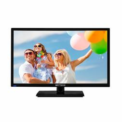 "24"" TV Full HD LED Flat Screen 1080p Wall Mountable HDMI USB"