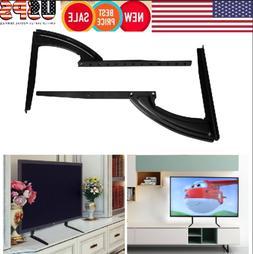 26~37inch Flat Screen TV Stand Adjustable Height Desktop Tab