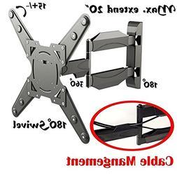 2xhome - Full Motion Articulating Swivel Swival & Tilt Arm -