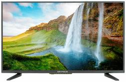 "32"" TV Full HD LED Flat Screen 1080p Wall Mountable HDMI USB"