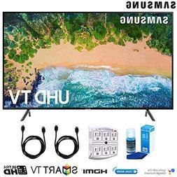 "Samsung 40NU7100 40"" NU7100 Smart 4K UHD TV  with Surge Prot"