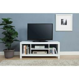 42 Flat Screen TV Stand Wood Storage Cabinet Home Media Cons