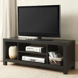"42"" Flat Screen TV Stand Wood Storage Cabinet Home Media Con"