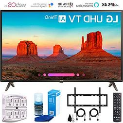 "LG 49UK6300 49"" UK6300 Smart 4K UHD TV  with Wall Mount + Cl"