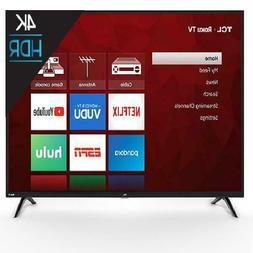 "TCL 50"" Class 4K UHD LED Roku Smart TV 4 Series 50S421 ""TV"""