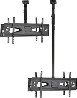 Displays2go DUOCEL3770 Double Sided Height Adjustable Ceilin