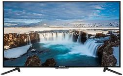 Flat Screen TV 55 Inch LED Television Wide Screen 4K Surroun