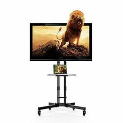 "Fleximounts Mobile TV Stand for 32-65"" Flat Screen with Sing"
