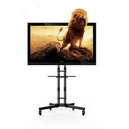 Fleximounts  Mobile TV Stand for 32-65 inch TV Cart with Hei