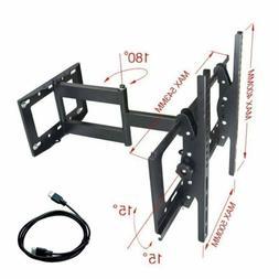 Full Motion TV Wall Mount Tilt Swivel 32 40 42 46 50 Inch Fl