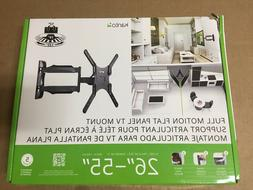 """Kanto - Full-motion Wall Mount For Most 26"""" - 55"""" Flat-panel"""