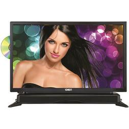 "Naxa 24"" HD LED TV with DVD Player and Built-in Soundbar in"