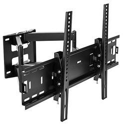 Sunydeal Tilt Swivel Two Arm Strong TV Wall Mount Bracket fo