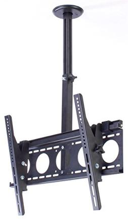 "TV Ceiling Mount for 36"" to 65"" Flat Screen Monitors, Rotati"