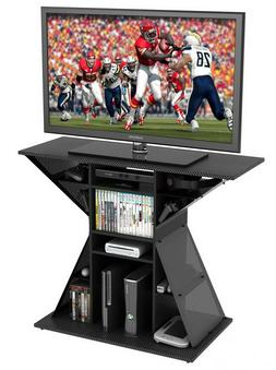 """TV Video Game Stand, Gaming Storage Rack Hub Console for 42"""""""