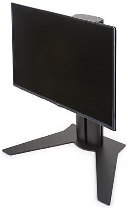 Displays2go Black Monitor Stands for Desktop, Metal, Aluminu