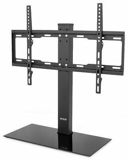 VIVO Black Universal LCD Flat Screen Freestanding TV Table T