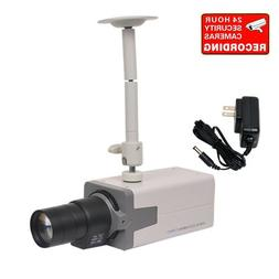VideoSecu CCTV Surveillance Camera Built-in 1/3'' Effio CCD
