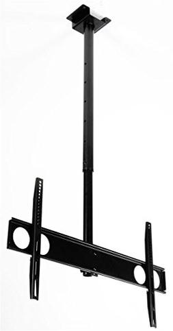 "Ceiling Mount for Flat-screen TV 37""-70"", Height-adjustable,"