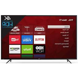 "TCL 65"" Class 4K  Roku Smart LED TV"