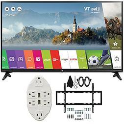 """LG 49"""" Class Full HD 1080p Smart LED TV 2017 Model  with Dec"""