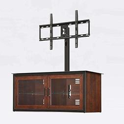 """Closed Door 3-in-1 TV Stand for TVs up to 55"""" Cable Wheel Co"""