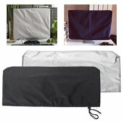 Computers Flat Screen Monitor Dust Cover PC TV Fits 24 Inch