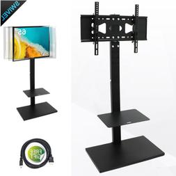 "Corner Floor TV Stand With Swivel Mount Fit 32""42""55""60""65 i"