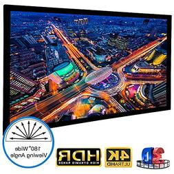 "120"" Diag. 16:9 Active 3D 4K/8K Ultra HD Fixed Frame Project"