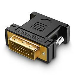 UGREEN DVI 24+5 VGA Adapter DVI I Male to VGA HD15 Female Ad