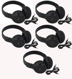 Five Pack of Two Channel Folding Adjustable Universal Rear E