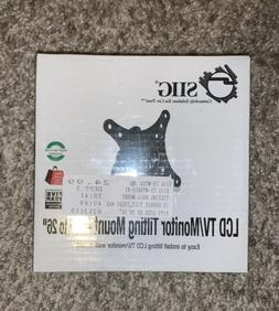 """SIIG Flat Screen TV/Monitor Wall Mount 10"""" to 26"""" - SEALED -"""