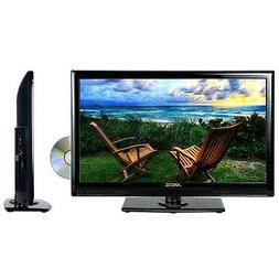 """Axess 19"""" Flat Screen LED TV DVD Player Full Function Remote"""
