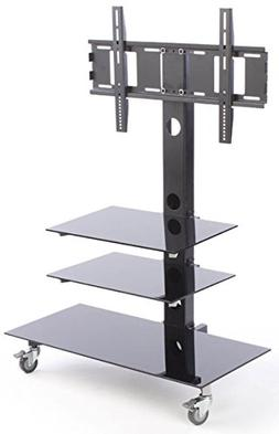 "Displays2go Flat Screen TV Holder for 65"" Televisions, Whe"