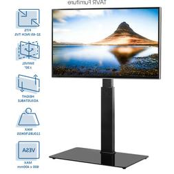 Floor TV Stand with Swivel Mount and Cable Management Univer