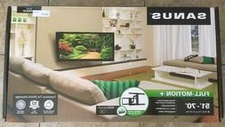 Full-Motion Flat Screen TV Mount by Sanus Model VLF525-B1, f