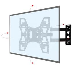 "Full Motion TV Wall Mount Bracket For 25""-55"" Inch Flat Scre"