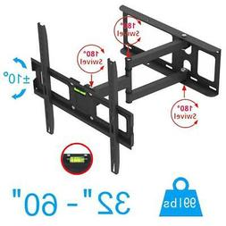 Full Motion TV Wall Mount VESA Bracket 32 46 50 55 60 inch L
