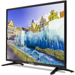 HD LED TV 32 Inch Flat Screen Built In Speakers Mountable HD