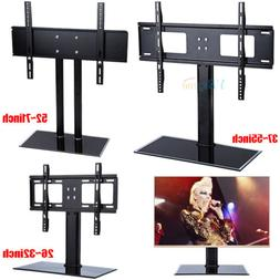 Home LED LCD Flat Screen TV Table Bracket Base Stand Fit for