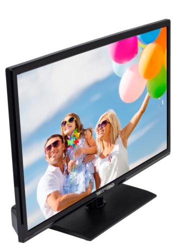 Sceptre 60Hz Class LED Built-in DVD Slim Flat