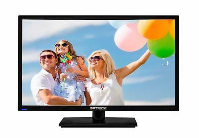 "24"" TV Full HD LED Flat Screen 1080p Wall Mountable HDMI USB"