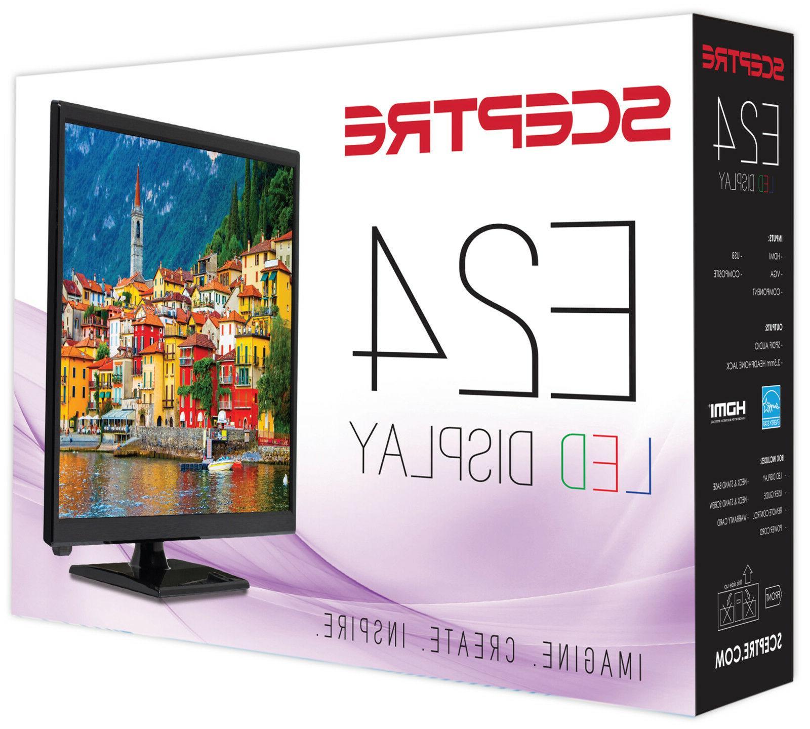 "Sceptre 24"" HD LED TV DVD Player"