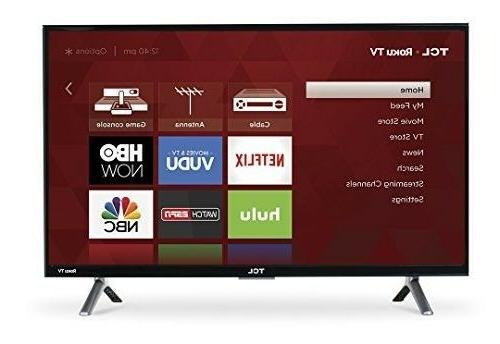 28 inch smart tv tlc roku small