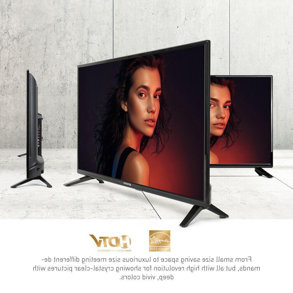 "SANSUI 40"" TV 720p 1080p Televisions Flat TV USB"