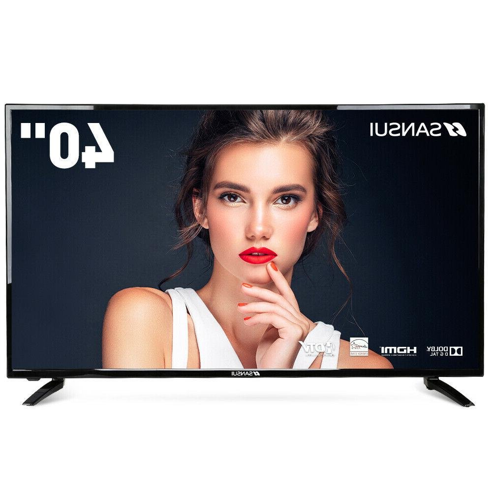"SANSUI 32"" 40"" TV 720p Televisions with Flat TV HDMI USB"