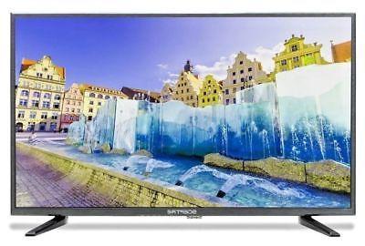 "32"" HD LED TV Flat Screen Wall Mountable HDMI USB Monitor In"