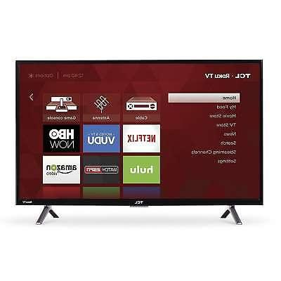 "TCL 32"" Flat Screen TV Wall Mountable 720p LED-LCD Televisio"