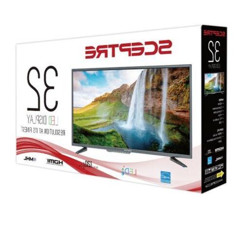 Sceptre Inch HD LED Flat Screen Mountable